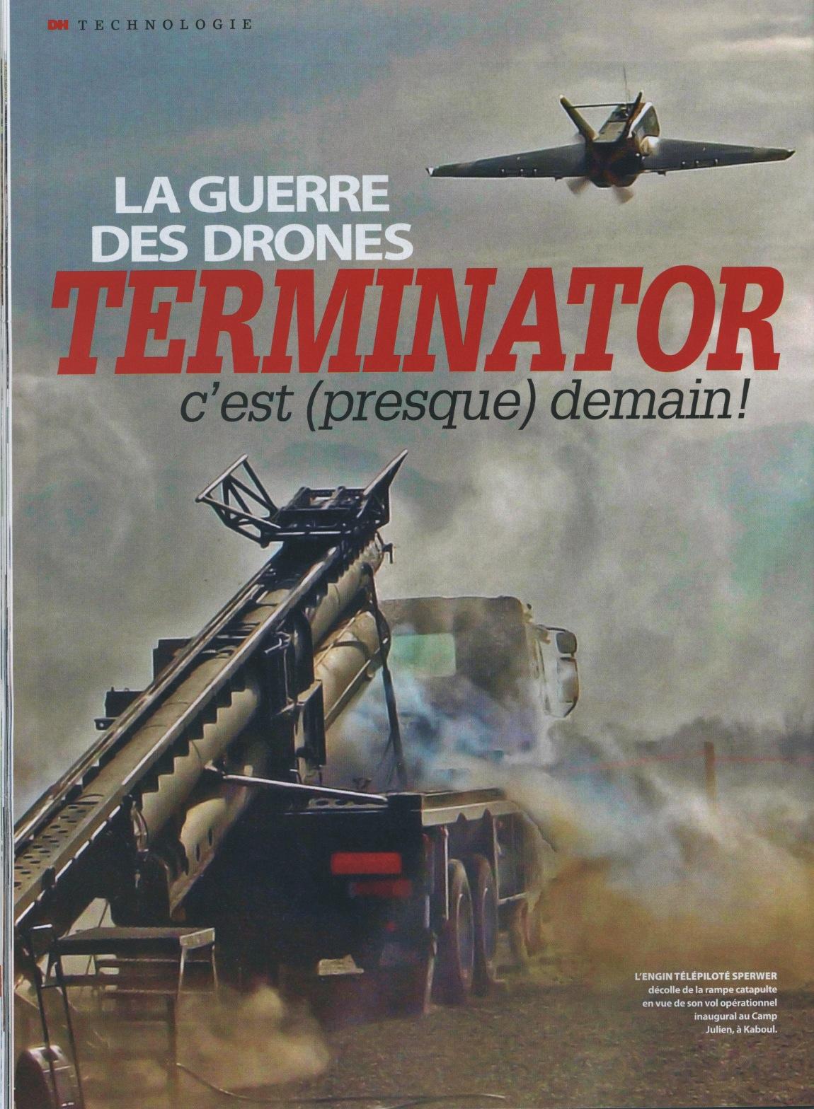 Magazine Dernière Heure, 31 août 2012