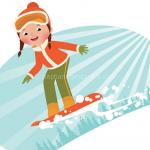 ski equipement enfants